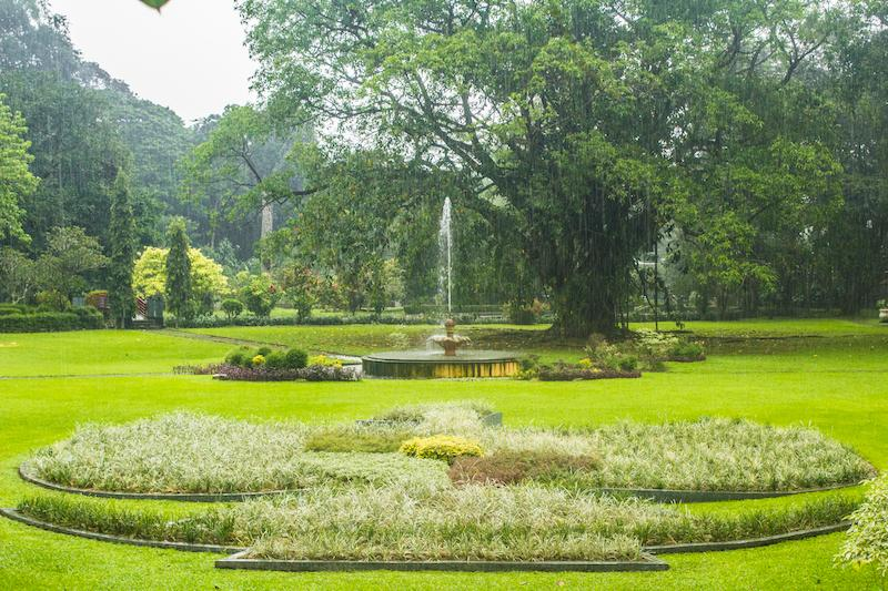 Tucked Away In The Northeastern Corner Of The Garden, This Is A Very  Pleasant Little Park, With Delightful Water Fountains And A Flower Bed That  Forms The ...